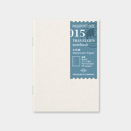 Traveler´s passport size Notebook – #15 Watercolor paper