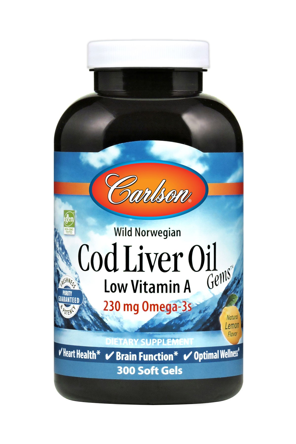 Low A Cod Liver Oil 300