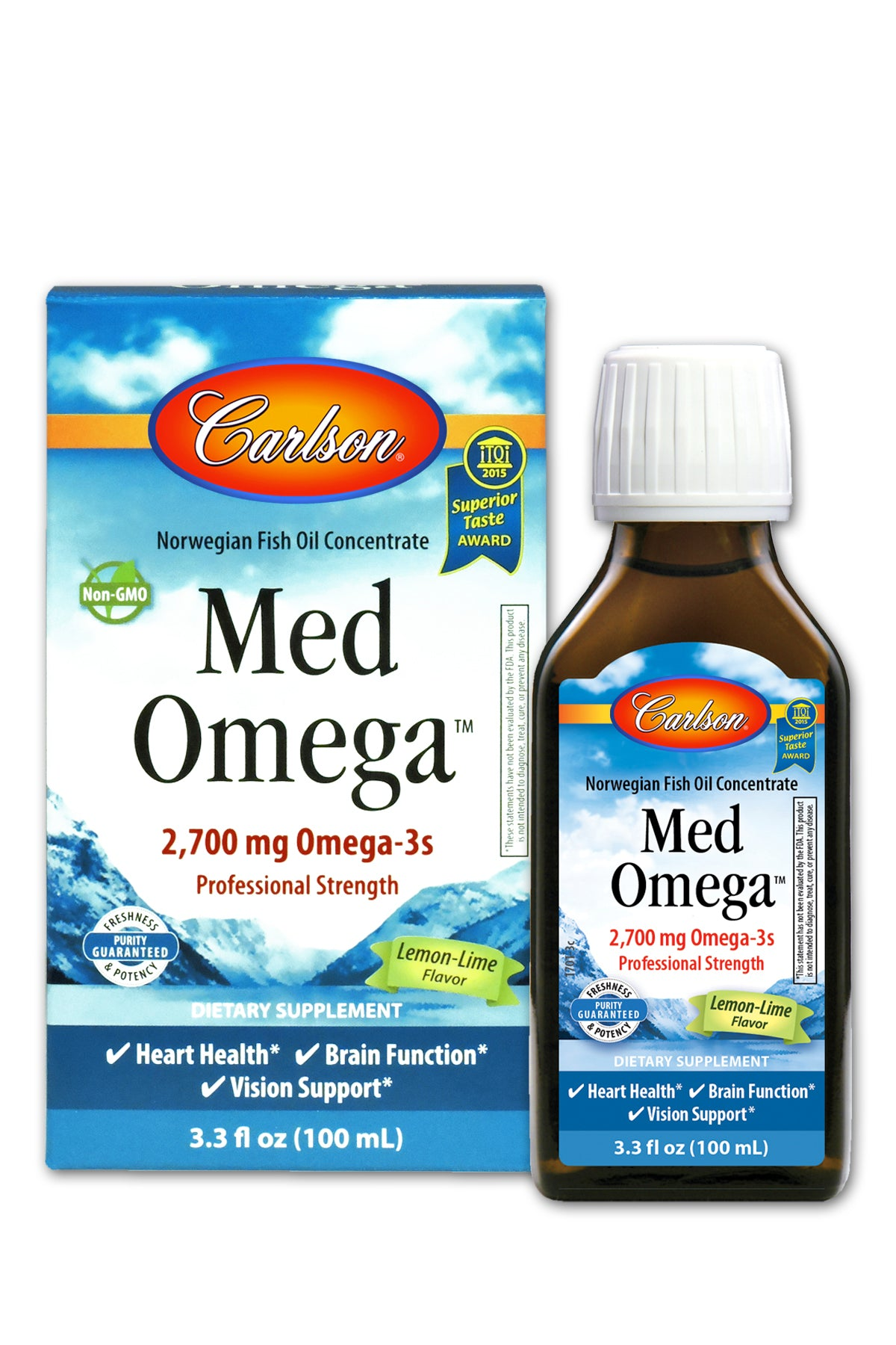 Med Omega Lemon Lime 100