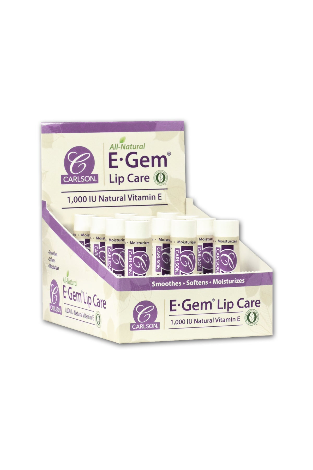 E-Gem Lip Care Box Of 12