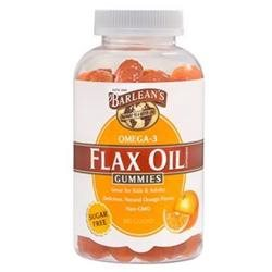 Flax Oil Gummies Orange Flavor