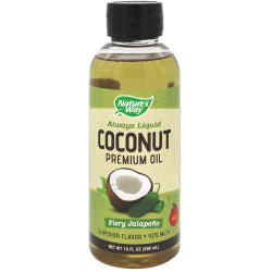 Coconut Oil Fiery Jalapeno, Liquid
