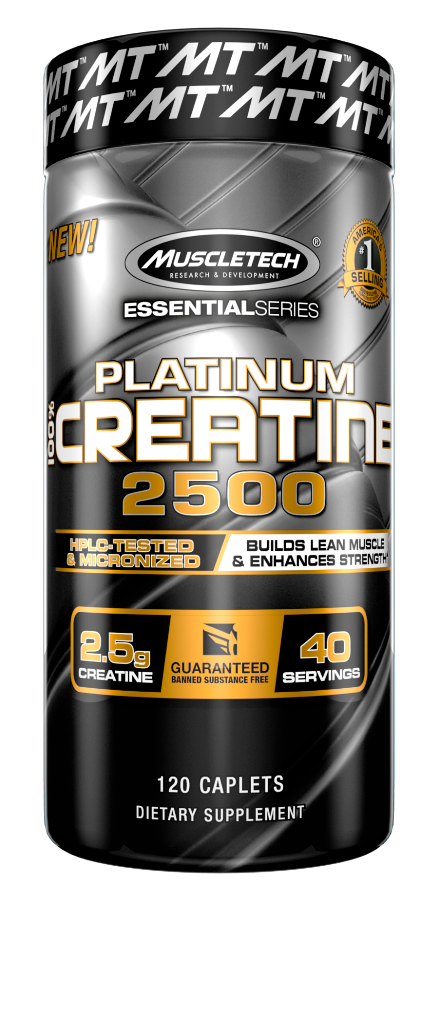 Mt Essential Series Platinum 100% Creatine 2500