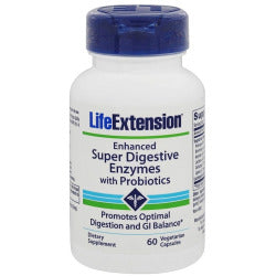 Enhanced Super Digestive Enzymes W/Probiotics