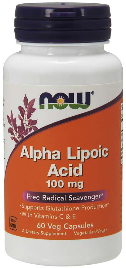 Alpha Lipoic Acid 100Mg 60 Vcap