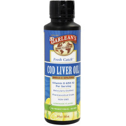Fresh Catch Cod Liver Oil Lemonade Flavor