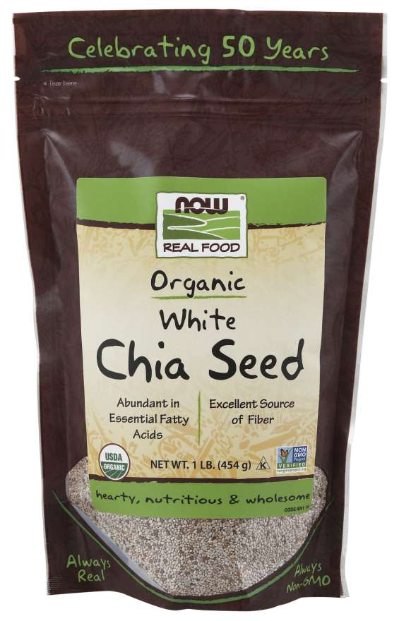 White Chia Seeds Org