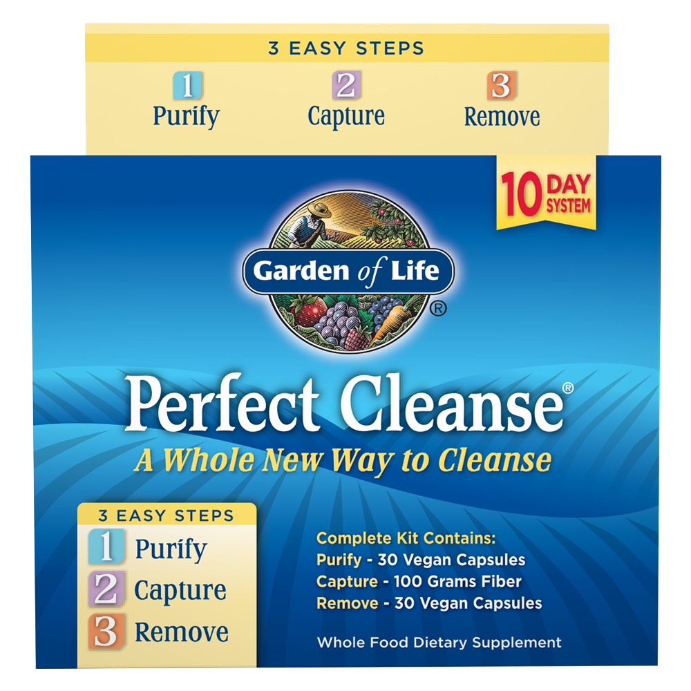 Perfect Cleanse Kit With Organic Fiber