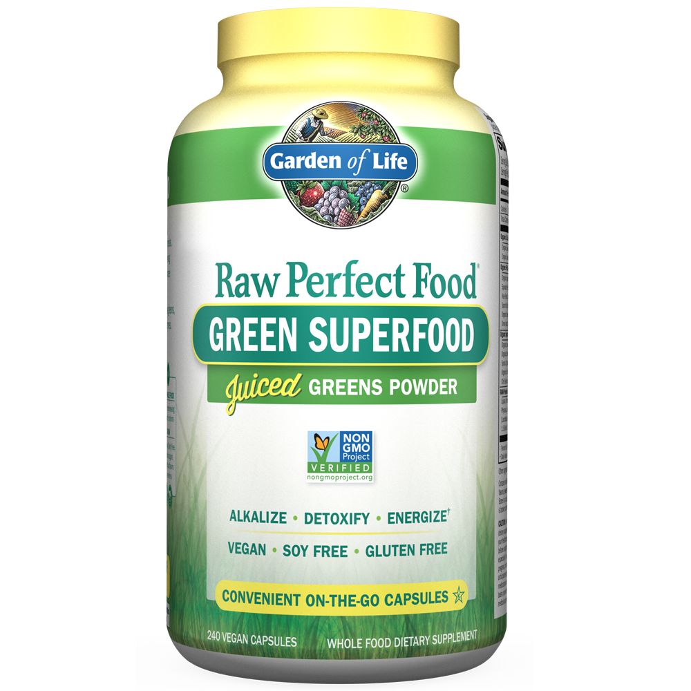Raw Organic Perfect Food Capsules