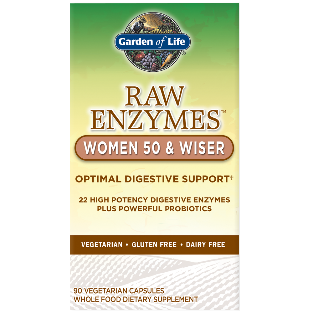 Raw Enzymes Women 50 & Wiser