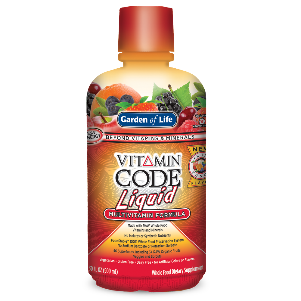 Vitamin Code Liquid Multi