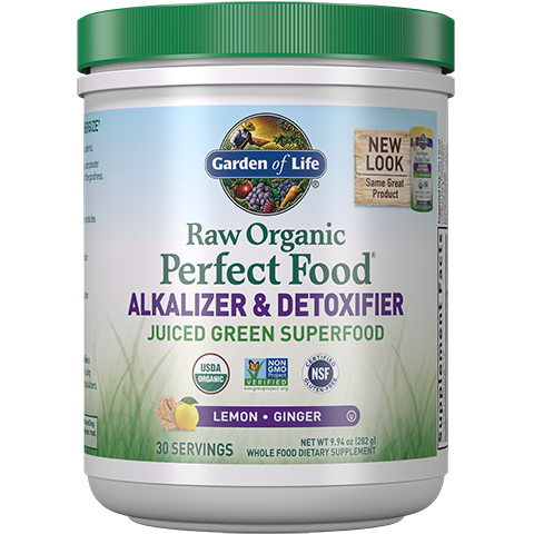 Raw Organic Perfect Food Alkalizer & Detoxifier