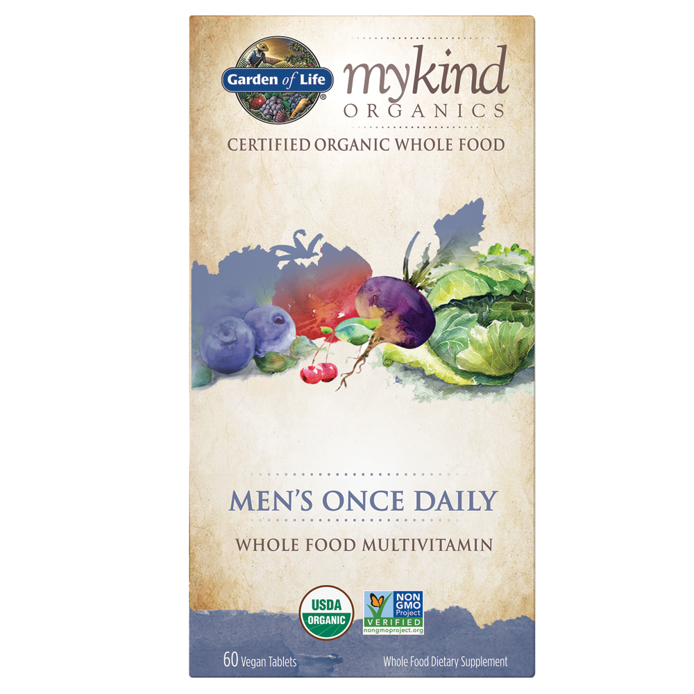 Mykind Organics Men Once Daily Multi