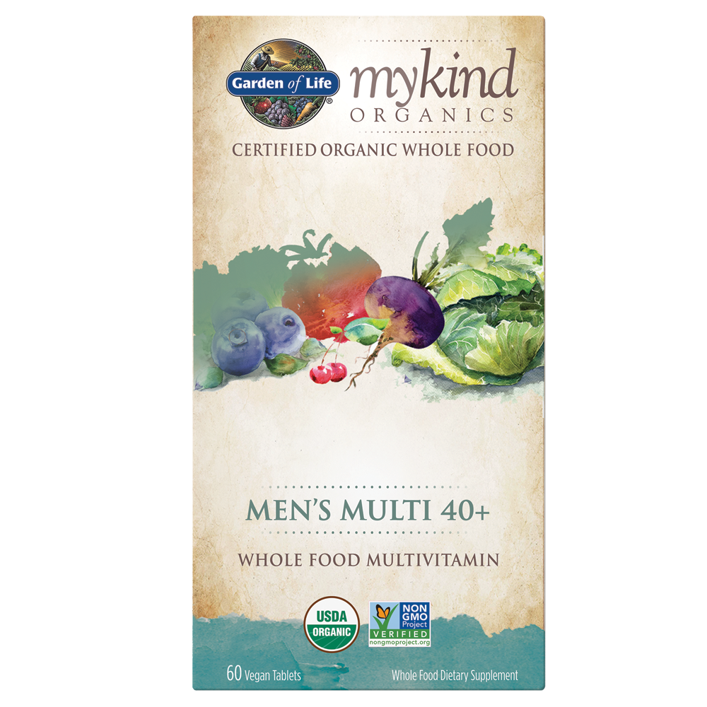 Mykind Organics Men'S 40+ Multi