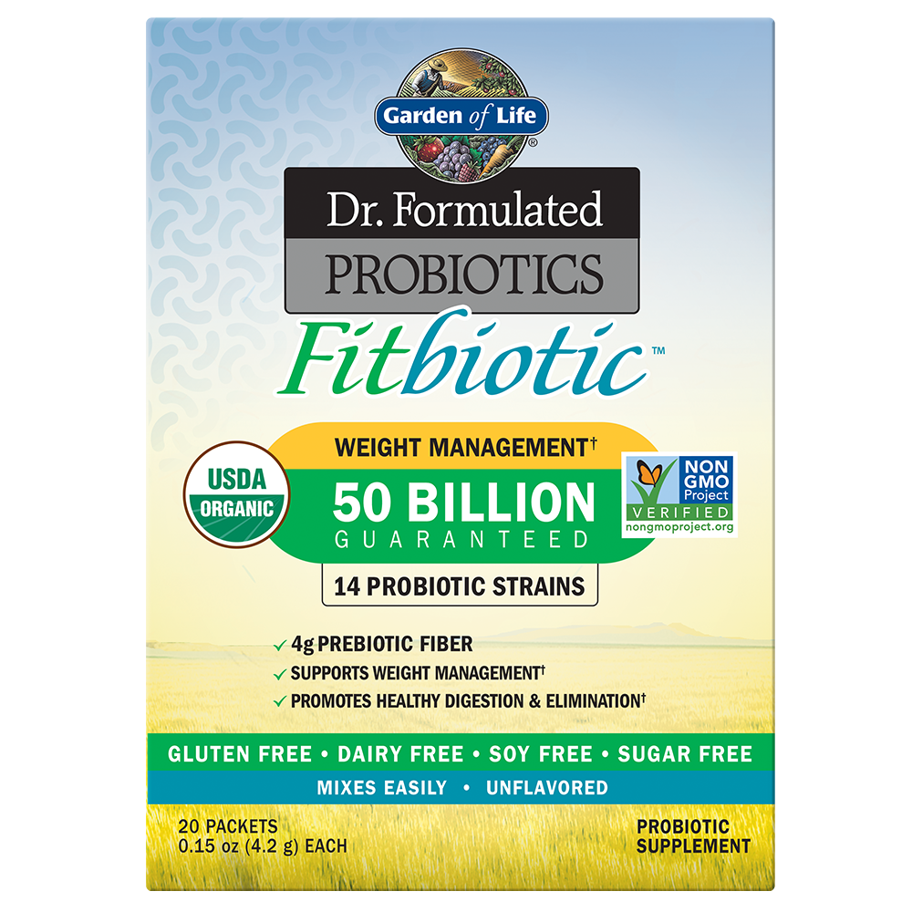 Dr. Formulated Probiotics Fitbiotic 50 Billion CFU