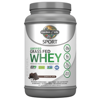 Sport Certified Grass Fed Whey Protein