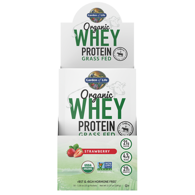 Organic Whey Protein Grass Fed