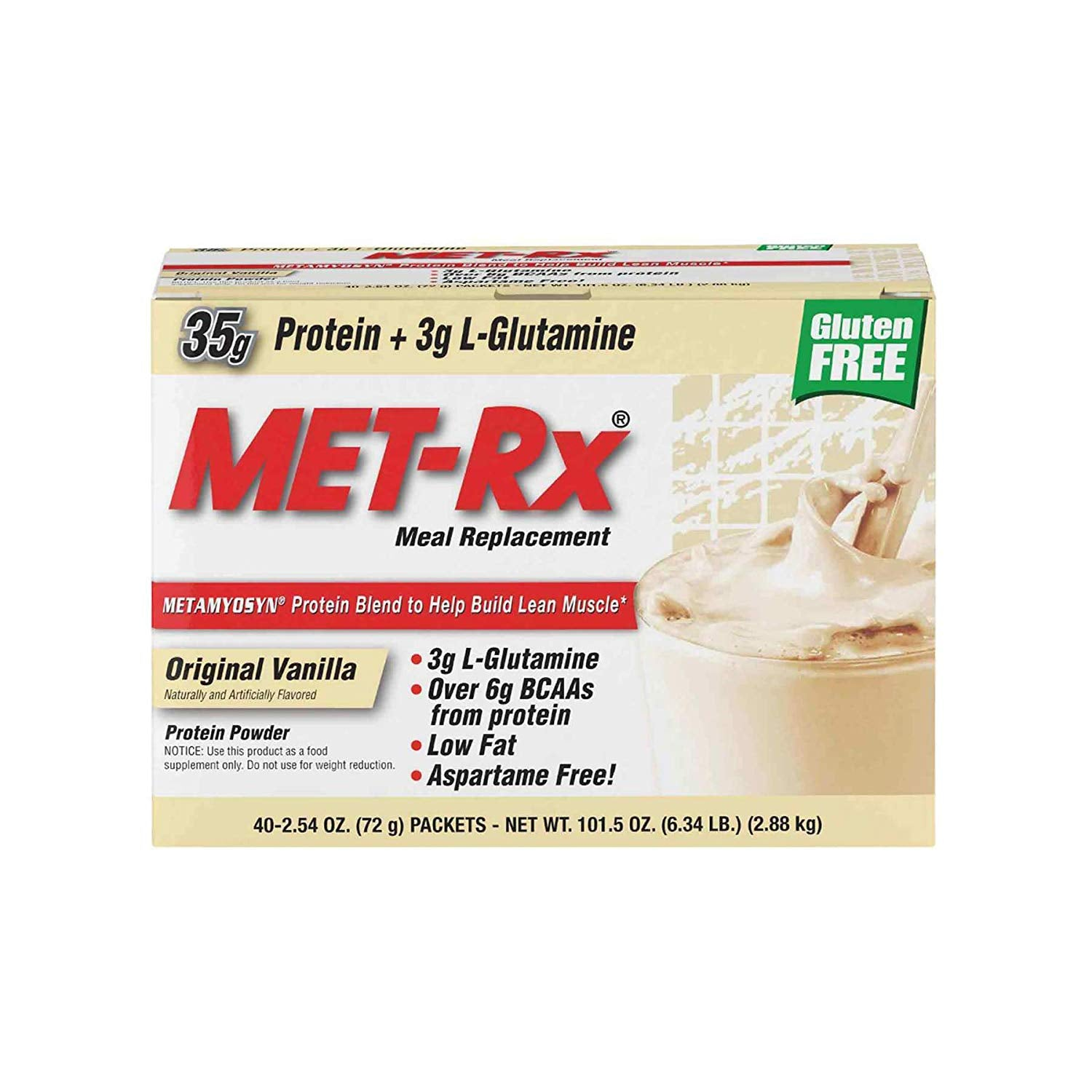 Met-Rx Original Meal Replacement 40 Packets