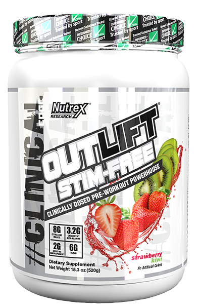 Outlift Stim-Free Strawberry Kiwi