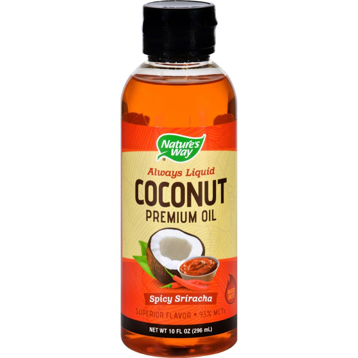 Coconut Oil Spicy Sriracha, Liquid