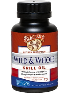 Wild & Whole Krill Oil Softgels