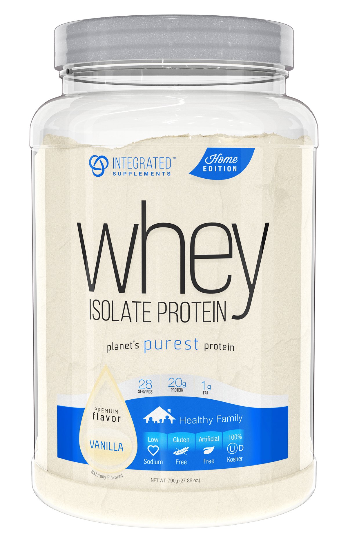 Integrated Supplements Whey Isolate Protein