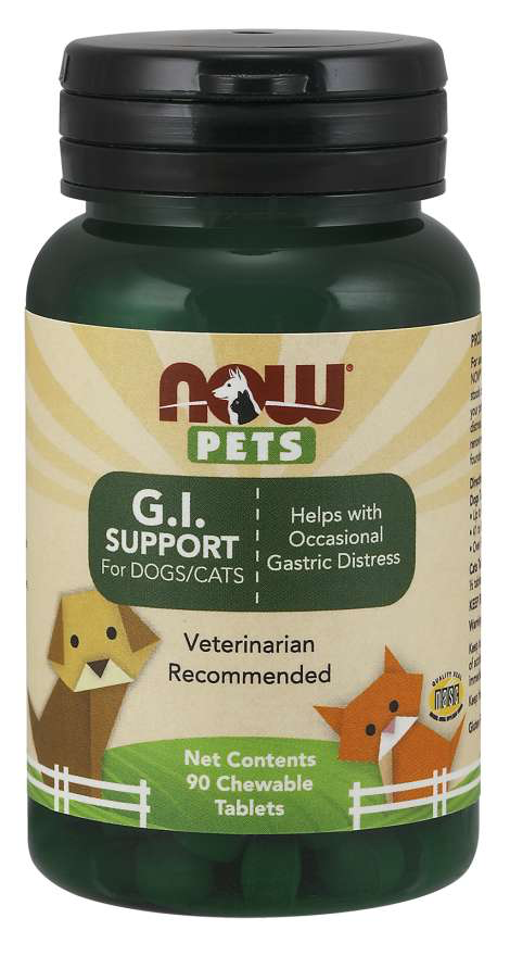 Now Pets Gi Support (Probiotic)90Loz