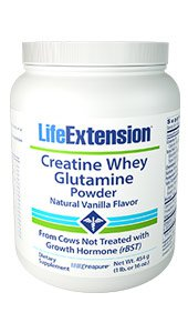 Creatine Whey Glutamine Powder Vanlla