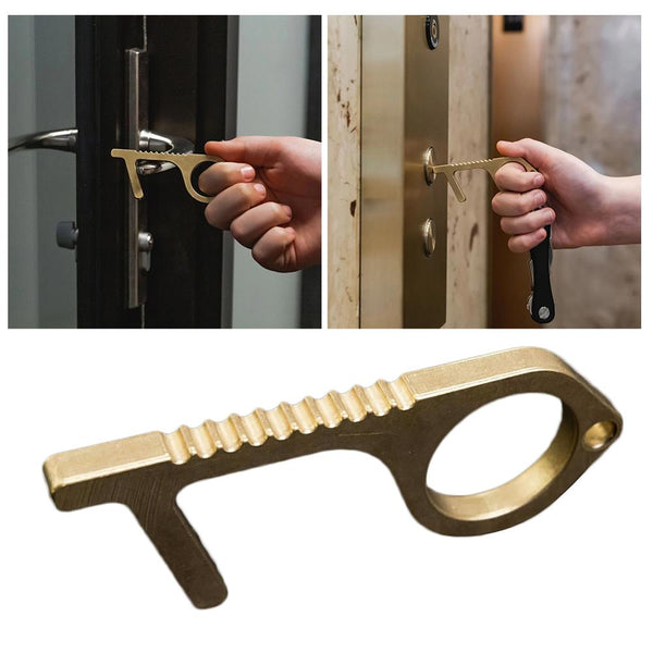 Hands Free Antimicrobial Door Opener
