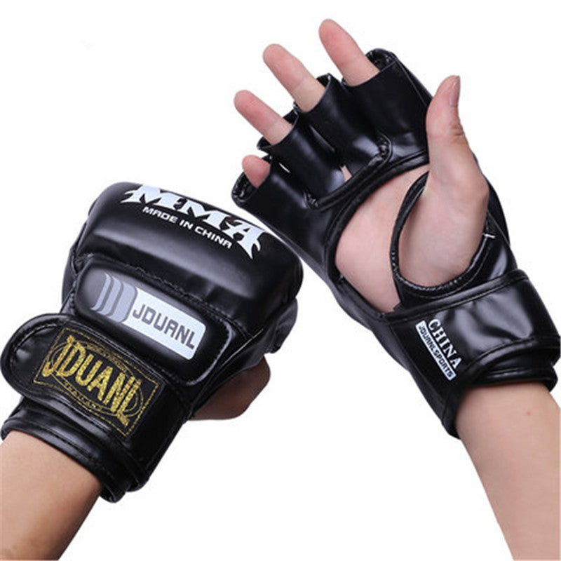 Professional Adult Boxing MMA Gloves Mitts Design Strong Durable High Springback Punching Bag Glove One Size