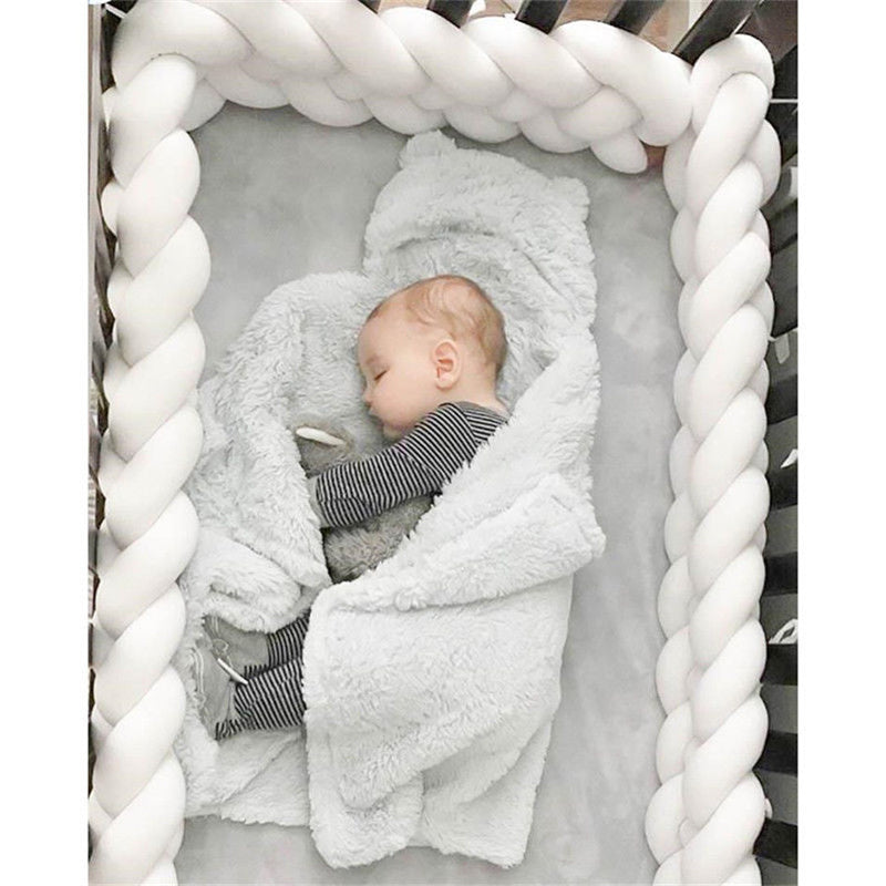Baby Braid crib Bumper