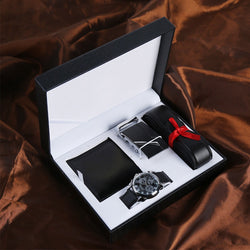 Wallet Watch Belt Husband Gift Set
