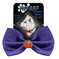 Pumpkin Widget Pet Bowtie Purple