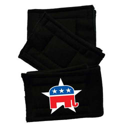 Peter Pads Black Size MD Republican 3 Pack