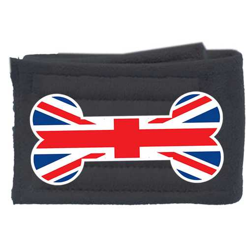 Peter Pads Ultra Plush Grey Size XS British Bone Flag Single