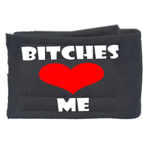 Peter Pads Ultra Plush Grey Size SM Bitches Love Me Single