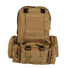 Image of Large 50L Military Style Hiking Camping Hunting Backpack