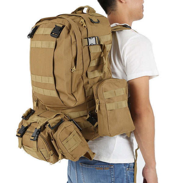 Large 50L Military Backpack