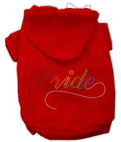 Rainbow Colored Pride Hoodies Red L (14)