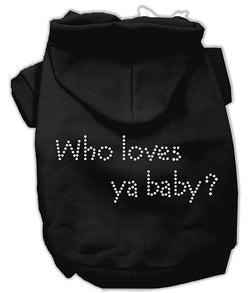 Who loves ya baby? Hoodies Black XXL (18)
