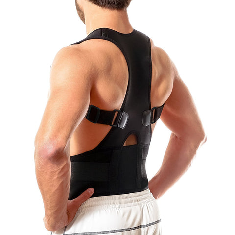 Magnetic Posture Corrector Back Brace Shoulder Support Belt