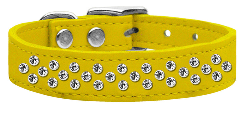 Sprinkles Clear Crystal Leather Yellow 20