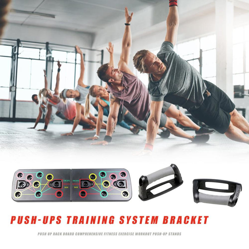 MultiPush™ 9 in 1 Push Up Board