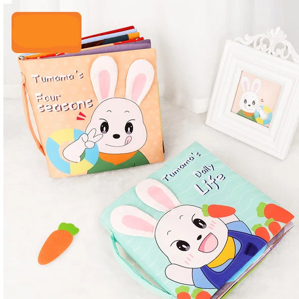 Soft Cloth Infant Books