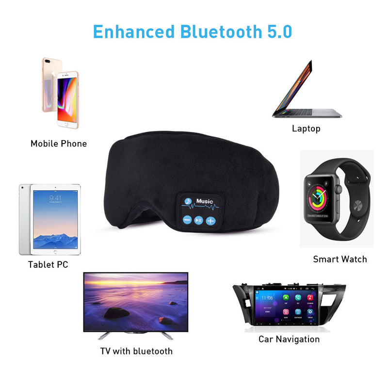 EZSleep™ Bluetooth Eyemask Sleep Mask