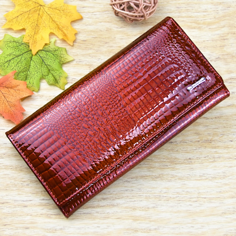 Genuine Leather Women's Wallet