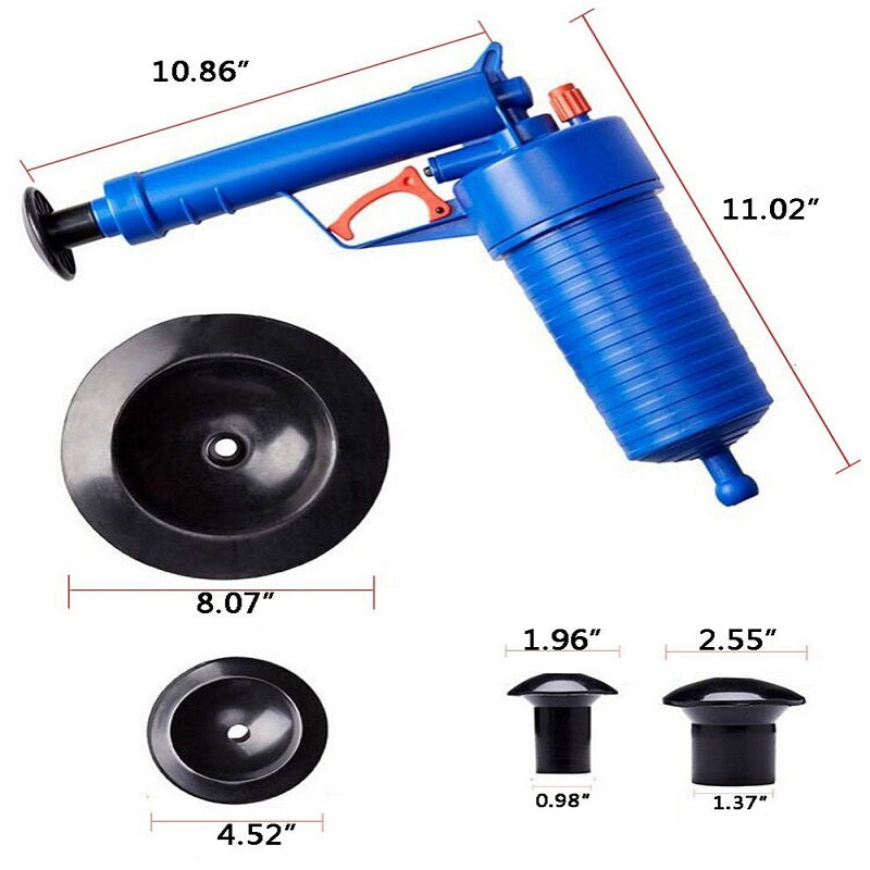 Drain Cleaner Power Plunger Sink Tool