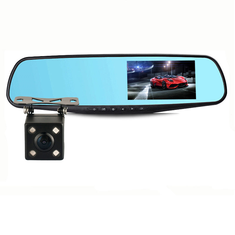 HD 1080P Car Dvr Camera Auto 4.3 Inch Rearview Mirror