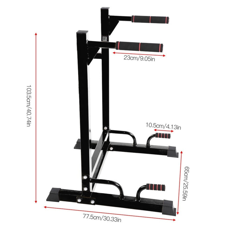 VersiGym™ Home Gym Dip Bar Workout Station Fitness Equipment