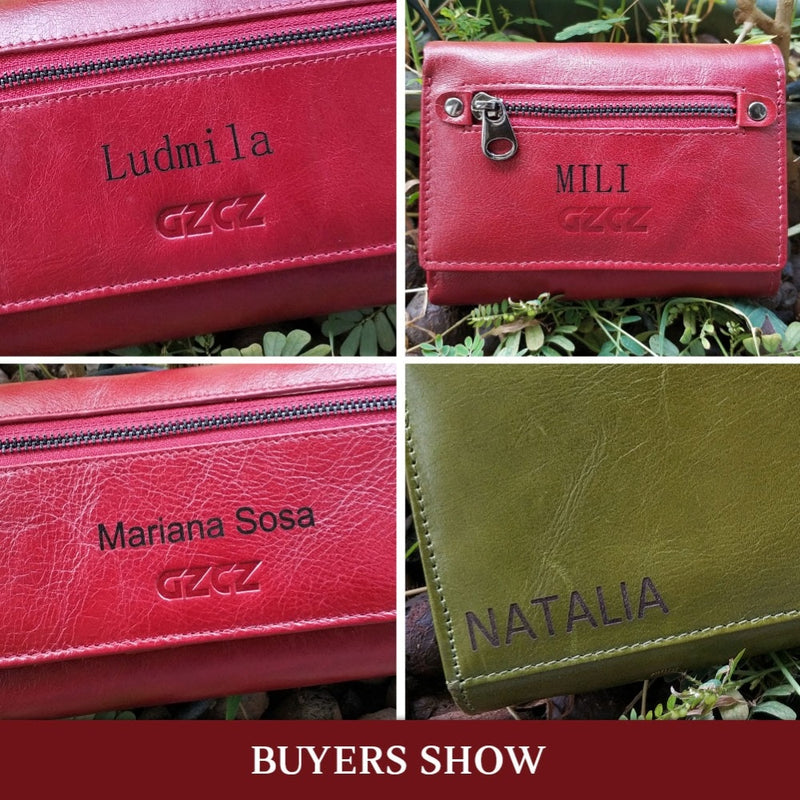 Genuine Women Leather Wallets